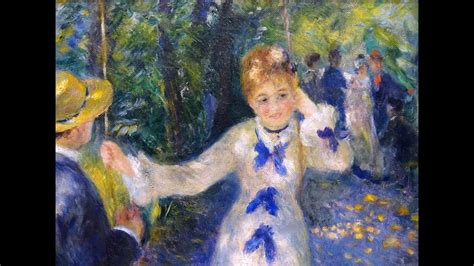 How To Recognize Renoir The Swing Youtube