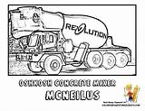Coloring Cement Truck Mixer Construction Concrete Trucks Vehicle Yescoloring Colouring Mixers Hard Boys Road Vehicles Tell Severe Duty Sheets Found sketch template