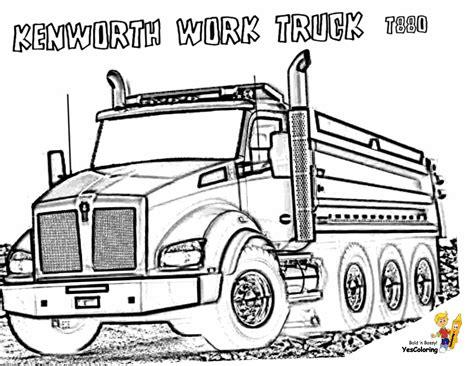 dirty dump truck coloring pages dump trucks  construction