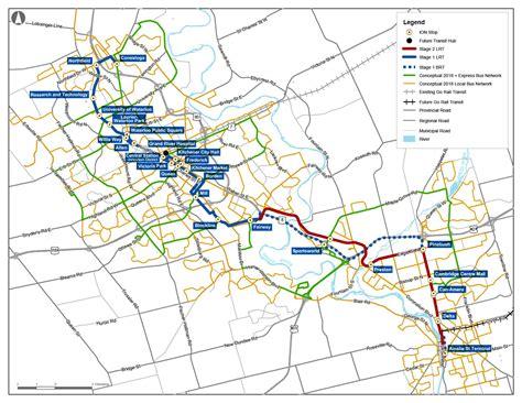 history  electric transit  waterloo region