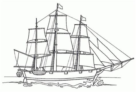 coloriage bateau voile dessin gratuit  imprimer