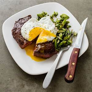 Steak And Eggs With Asparagus Cook39s Country