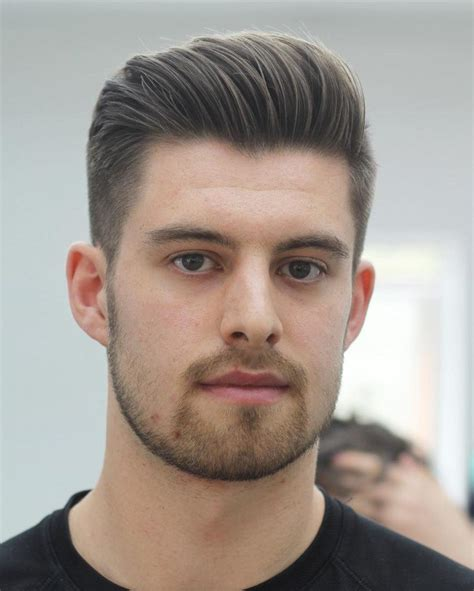 flattering haircuts  men  face shape hair