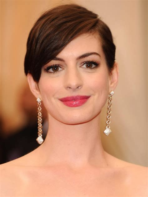 Short haircut anne hathaway also have to get the attention of women and men who love haircut short. Popular Short Anne Hathaway Remy Human Hair Fabulous Long ...