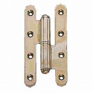paumelles menuiseries bois noeuds ronds a lames bouts With rondelle pour gond de porte