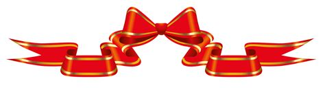 clipart foto banner with bow png clipart picture gallery