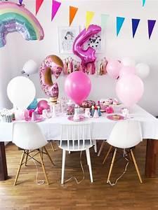 Kindergeburtstag 4 Jahre Mädchen : 4 geburtstag feiern spiele und deko ideen f r den kindergeburtstag ~ Frokenaadalensverden.com Haus und Dekorationen