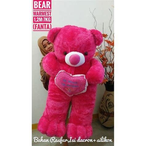 boneka teddy jumbo ukuran boneka beruang teddy putih besar 1 m boneka beruang
