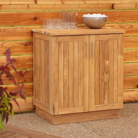 Outdoor Wood Cabinets by 30 Quot Artois Teak Outdoor Kitchen Cabinet Outdoor