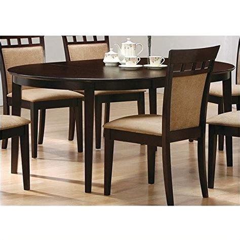 Price tracking for Coaster Contemporary Oval Dining Table