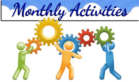monthly activities calendar richmond heights middle