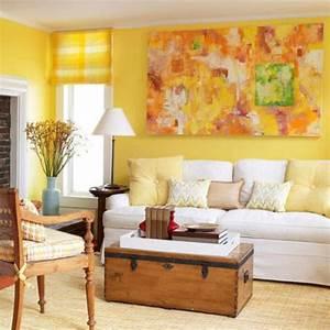 Luminous interior design ideas and shining yellow color for Interior decorating colour scheme ideas