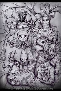 Alice in Dark Wonderland. by LilyChaoS on DeviantArt