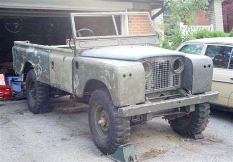 land rover series ii 109 with nos frame bulkhead for sale technical specs description