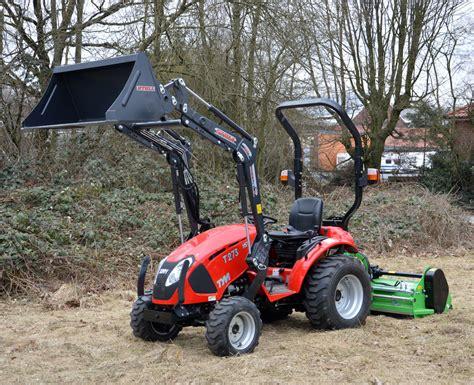 traktor mit frontlader kaufen tym t273 hst mit stoll frontlader und peruzzo fox 1400 kaufen
