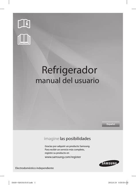 Samsung RF260BEAESL Manual de usuario Manualzz