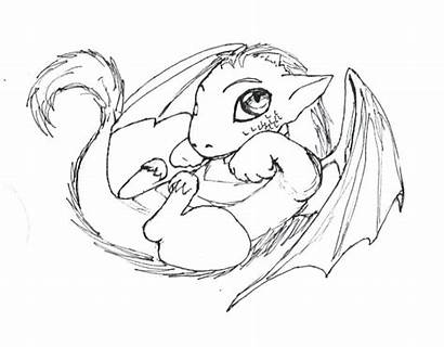 Coloring Pages Mystical Mythical Creature Dragon Printable