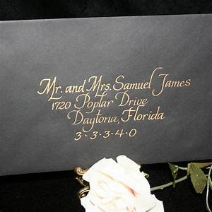 calligraphy wedding envelope addressing italics With calligraphy alphabet wedding invitations