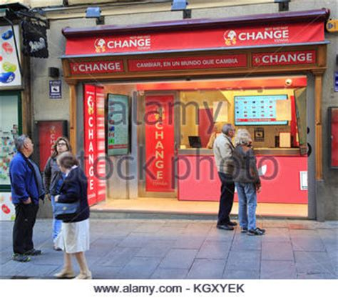 the money shop bureau de change payday loans cheques cashed debt easy stock photo royalty free