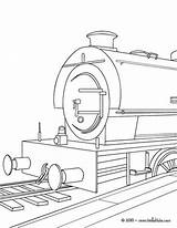 Train Coloring Pages Steam Engine Locomotive Bullet Drawing Boxcar Printable Speed Template Getcolorings sketch template