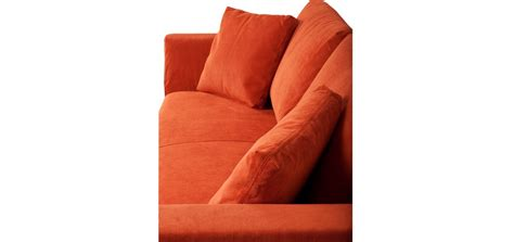 canapé prix cassé canapé en velours orange commandez nos canapés en