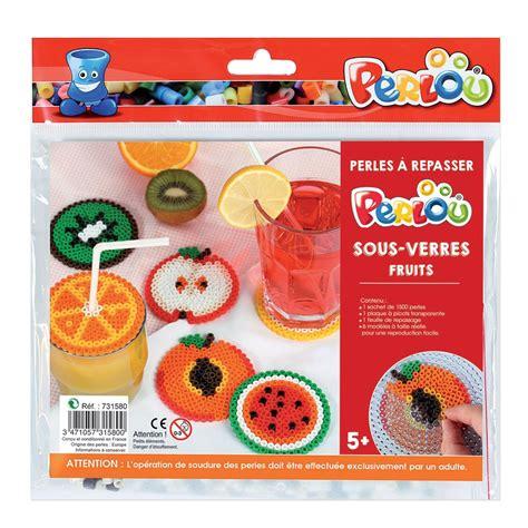 bicchieri per bambini kit perlou perle da stirare per bambini sotto bicchieri
