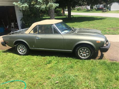 1982 Fiat Spider 2000 by 1982 Fiat 124 Spider 2000 For Sale Photos Technical