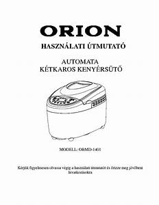 Orion Obmd1401 User Hun Service Manual Download  Schematics  Eeprom  Repair Info For Electronics