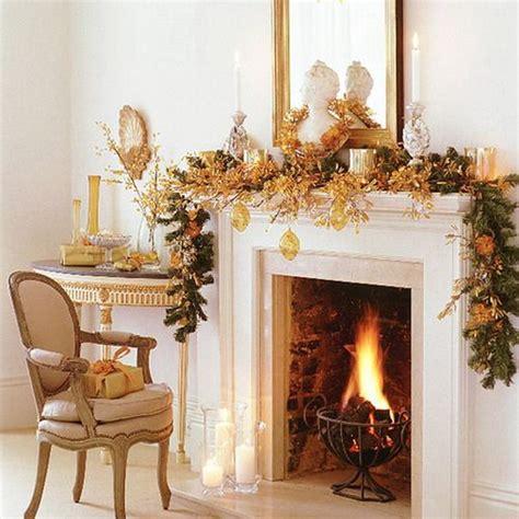 gorgeous fireplace mantel christmas decoration ideas