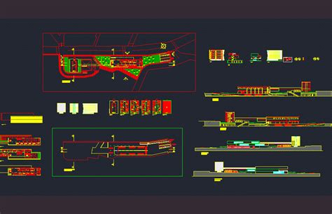 intermodal dwg block  autocad designs cad