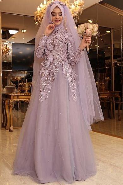 model baju pengantin muslim simple anggun  elegan