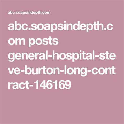 General Hospital's Steve Burton: