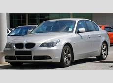 File20042007 BMW 525d E60, 5Series saloon in