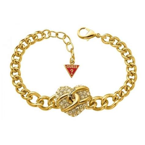 Guess Armband Gold Herz  Le Juwelier  The Finest in