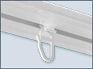 Gardinengleiter Für Aluschienen : faltengleiter x gleiter mit haken kunststoff wei f r innenlauf aluschienen von stahldeko ~ Watch28wear.com Haus und Dekorationen