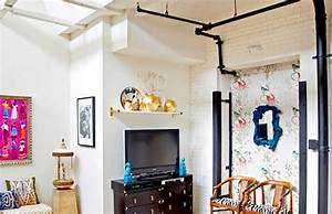 Canos à mostra deixam a decoração mais despojada - ZAP em Casa