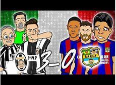 JUVENTUS vs REAL MADRID 21🏆 Parody Champions Leagu