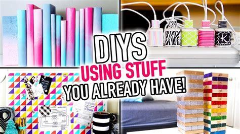 6 diys using stuff you already around your house