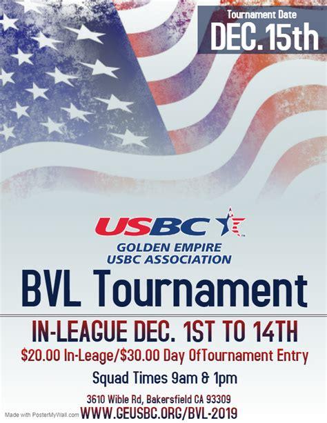 Golden Empire USBC BVL Tournament – GEUSBC