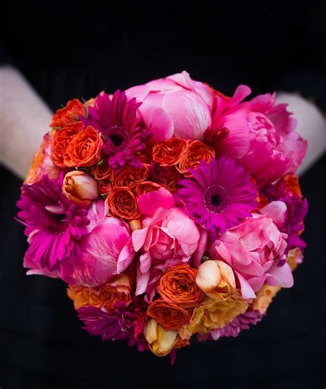 Bridesmaids Bouquets Evantine Design Blog