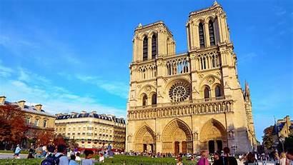 Dame Notre Paris France 4k Cathedral Wallpapers