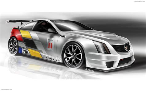 Cadillac Cts V Race Car by Cadillac Cts V Coupe Race Car Widescreen Car