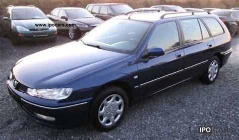 2000 Peugeot 406 Photos, Informations, Articles