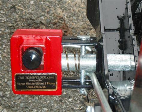 plow lock  tommylock fits fisher minute mount