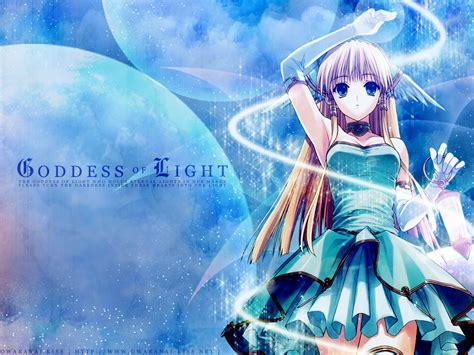 Goddess Of Light by Hiro Suzuhira Wallpaper Goddess Of Light Minitokyo