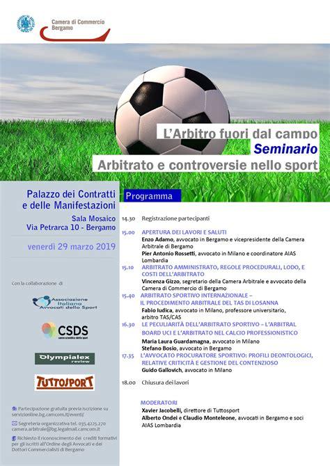 associazione italiana avvocati dello sport