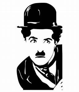 Trends on Wall Charlie Chaplin Sticker - Large - Buy
