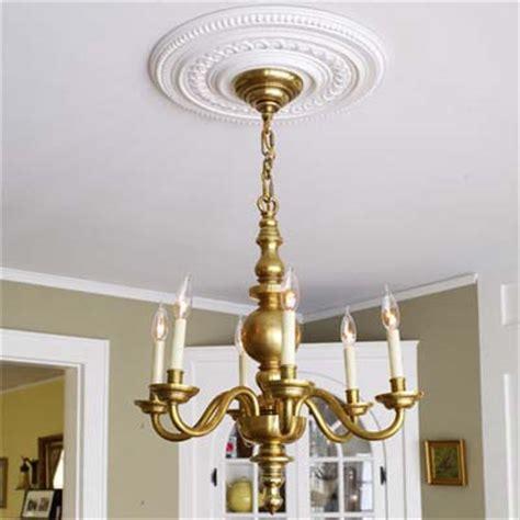 add a ceiling medallion 100 diy upgrades for 100