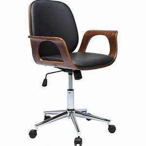 Chaise De Bureau : chaise de bureau contemporaine noire patron kare design ~ Teatrodelosmanantiales.com Idées de Décoration