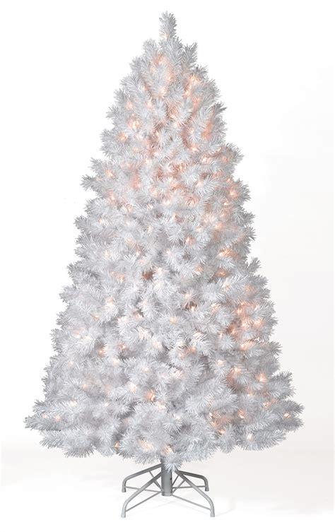 8 ft shimmering white multi lit tree tree market